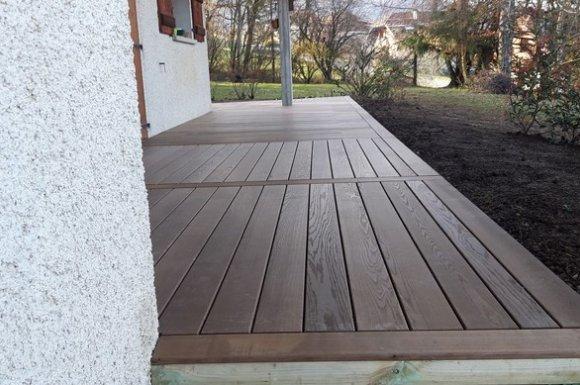 Professionnel pour la conception et l'installation de terrasse en bois Annecy