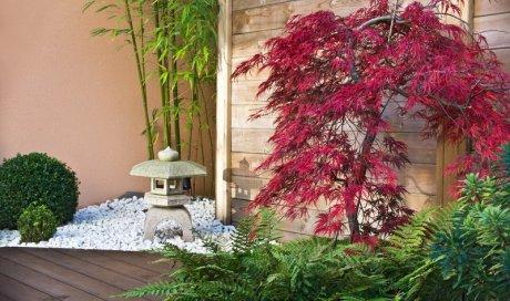 Paysagiste professionnel pour la création d'un petit jardin zen japonais Annecy