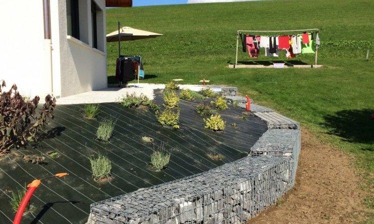 Création de bac de pierre Annecy