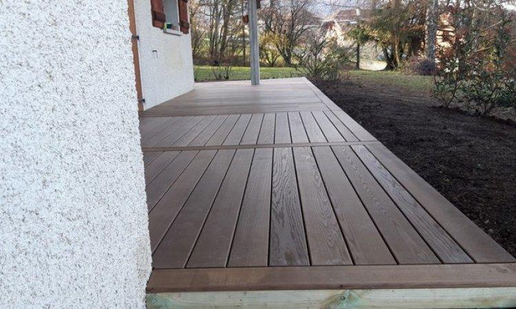 Création terrasse en bois Annecy