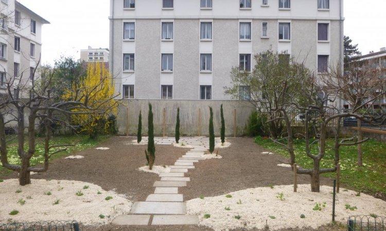 aménagement jardin d'inspiration toscane annecy